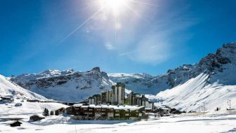 Wintersport Tignes