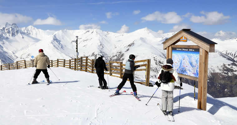 Top 10 winterport, bestemmingen
