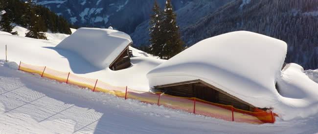 Ski-in en Ski-out, accommodaties aan de piste
