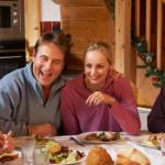 Catering en wellness in een wintersportchalet