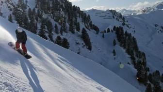 Harakiri op de Penken bij Mayrhofen