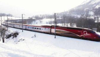Met de Thalys naar de wintersport