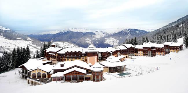 Wintersport in Valmorel