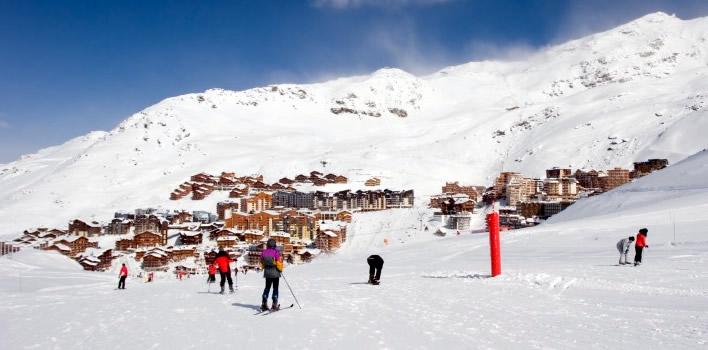 Wintersport met skipas in Frankrijk