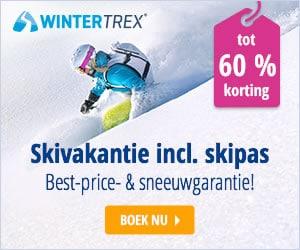 WinterTrex skivakanties met skipas en hoge korting!