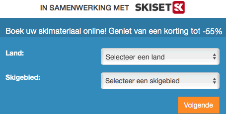SkiSet inline skihuur. Korting tot 50%
