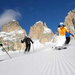 Val di Fassa in Trentino. Topper in Dolomiti Superski!
