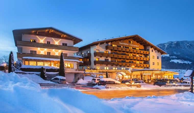 Romantische wintersport Oostenrijk
