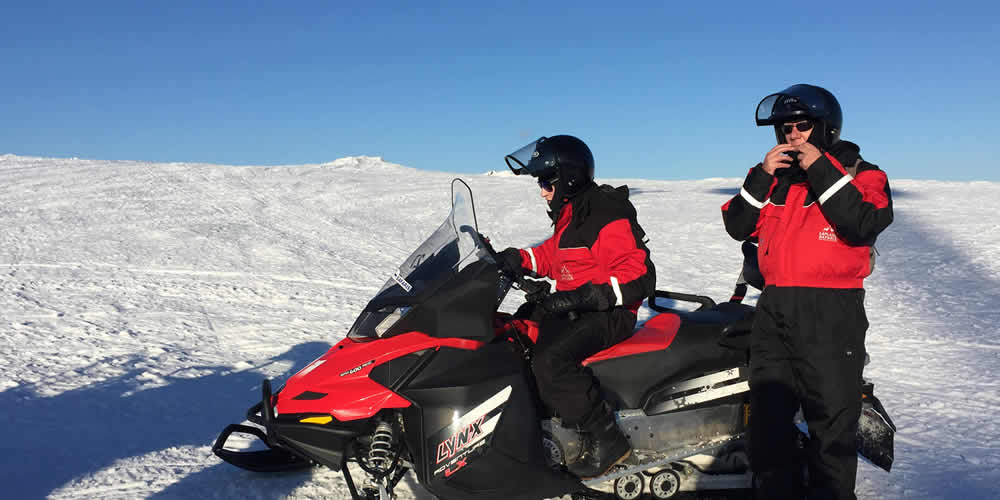 Wintersport in Scandinavië