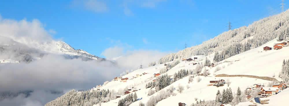 Wintersport met oud en nieuw