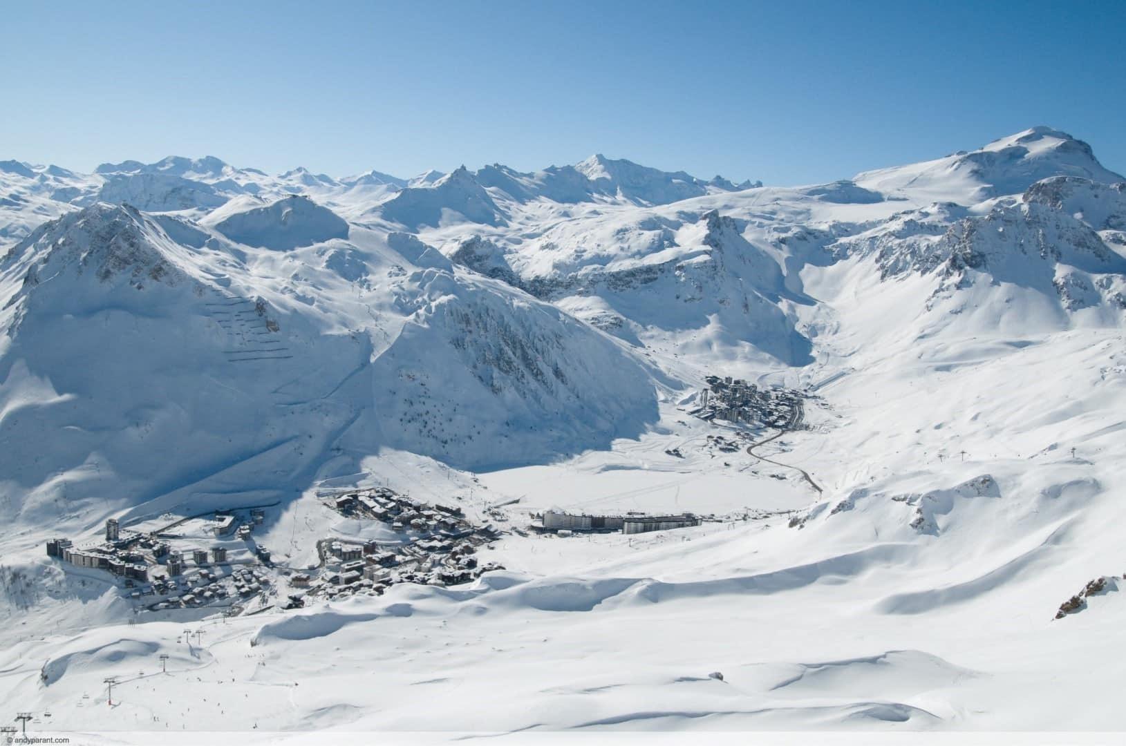 wintersport en aanbiedingen in Tignes