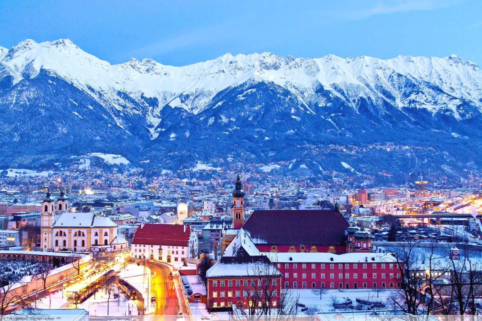 wintersport en aanbiedingen in Innsbruck