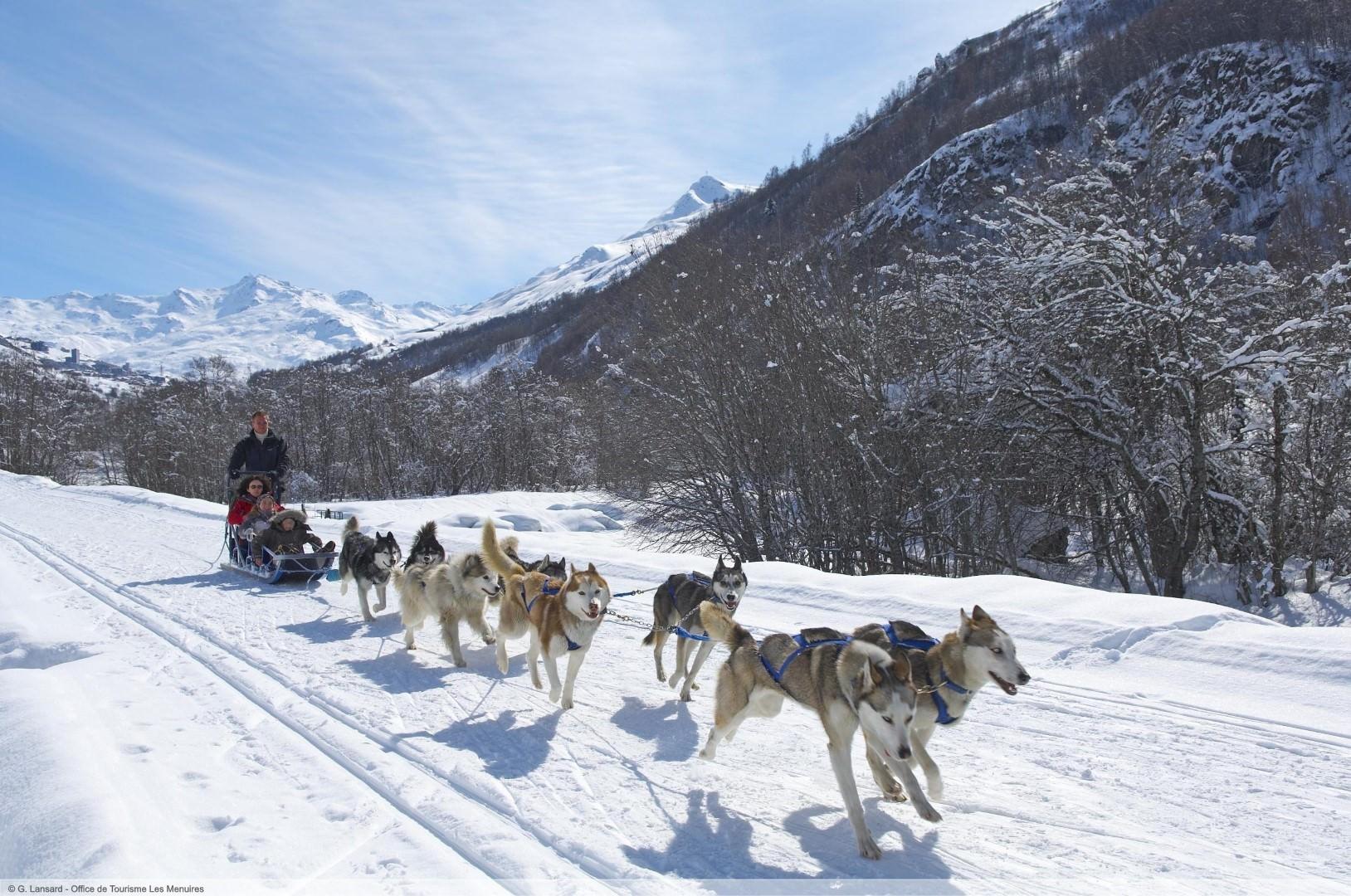 après-ski in Les Menuires