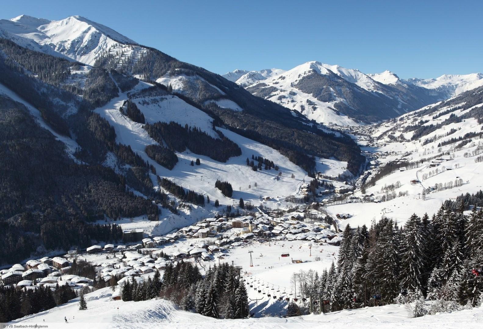 wintersport en aanbiedingen in Saalbach