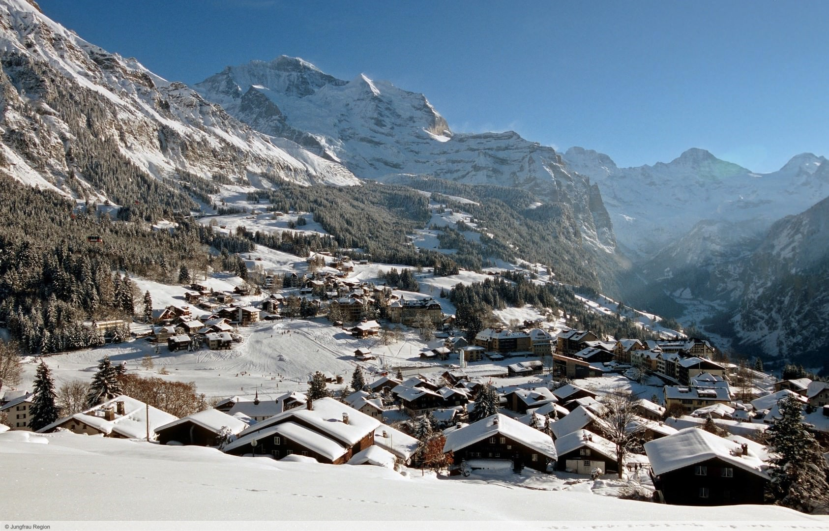 wintersport en aanbiedingen in Wengen