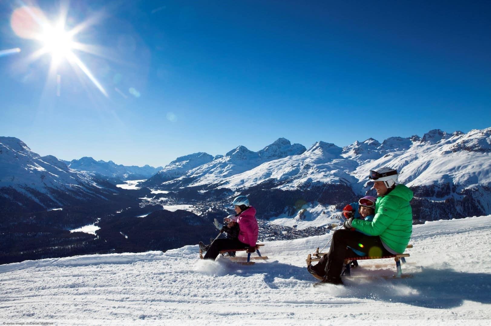 après-ski in St. Moritz