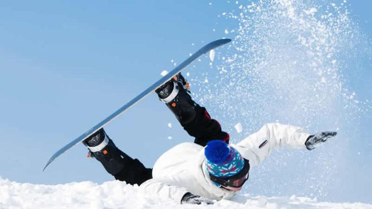 Ongeval tijdens de wintersport
