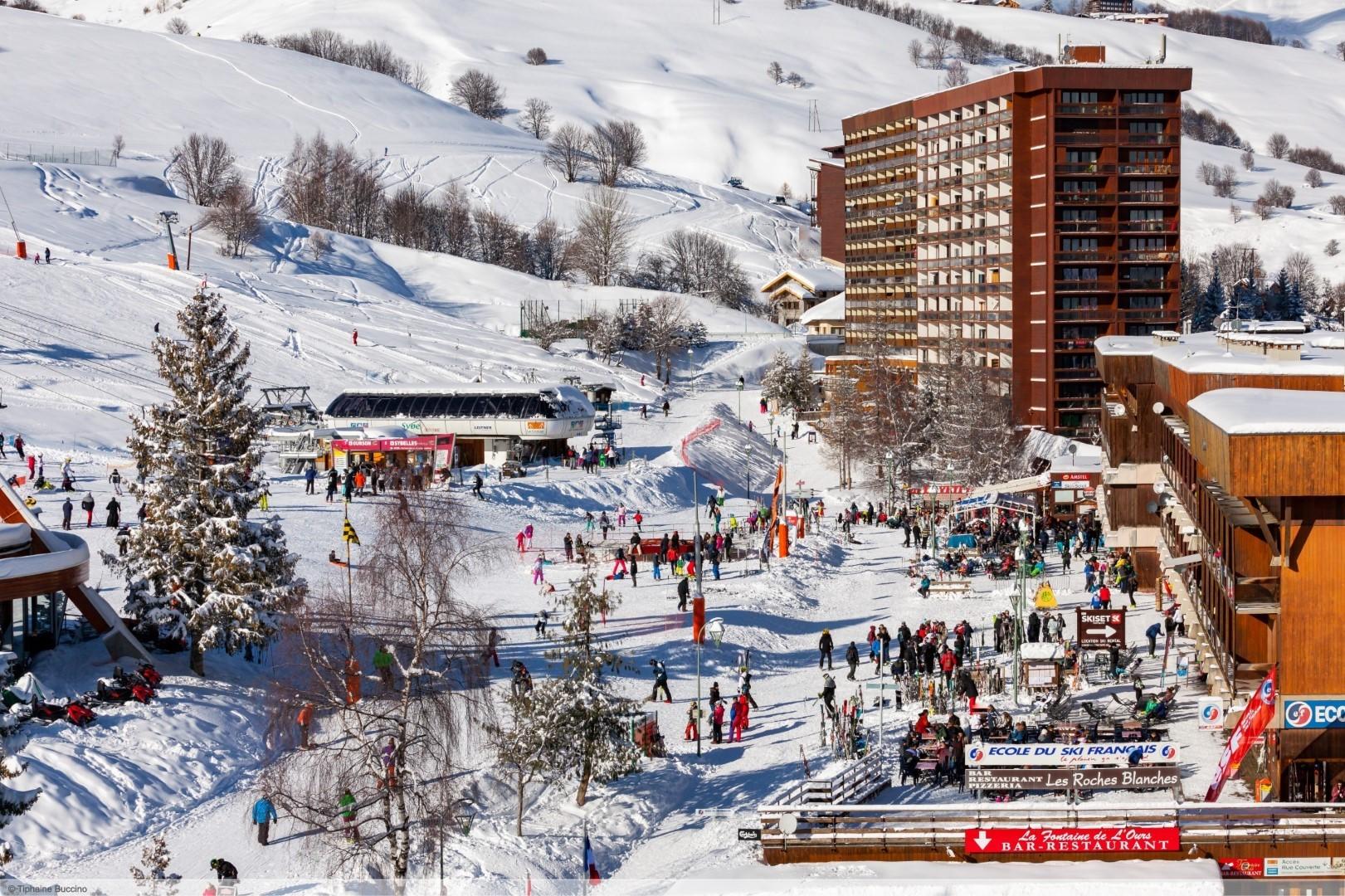 wintersport en aanbiedingen in Le Corbier (Les Sybelles)