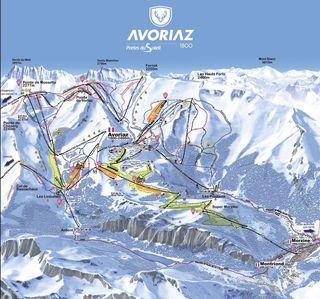 après-ski in Avoriaz