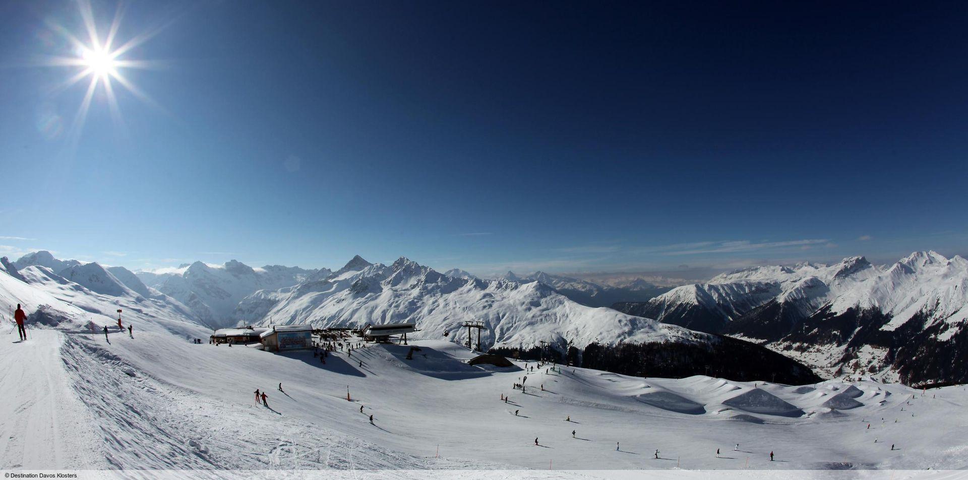 wintersport en aanbiedingen in Klosters