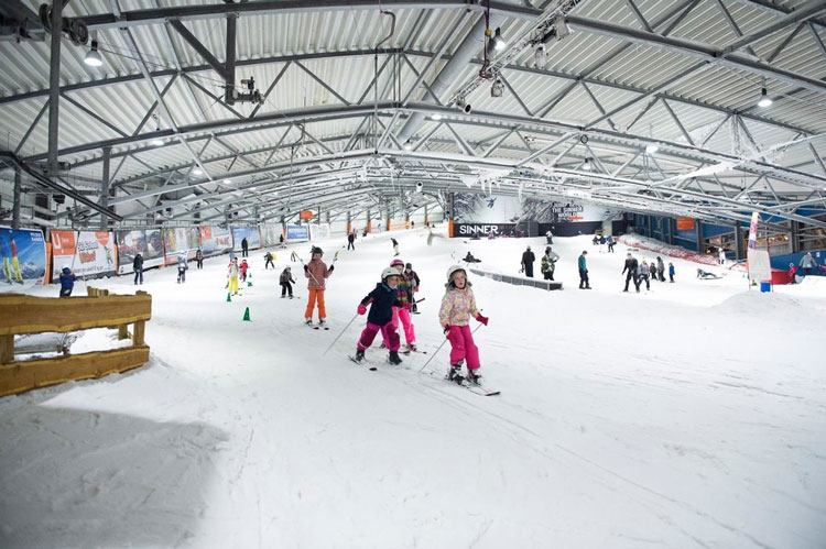 Wintersport in Nederland