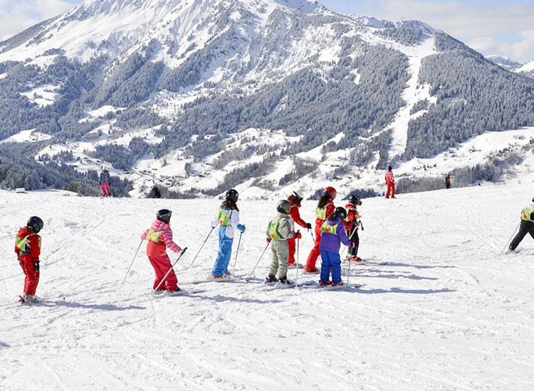 Wintersporten Portes du Soleil